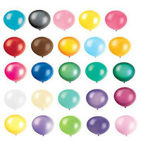 "12"" INCH LATEX HELIUM OR AIR QUALITY BALLOONS FOR PARTY WEDDING BIRTHDAY"