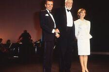 DIRK BOGARDE ISABELLE HUPPERT FESTIVAL DE CANNES 1984 DIAPOSITIVE VINTAGE SLIDE