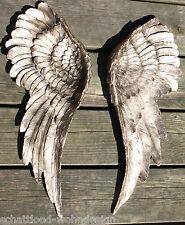 2er Set XXL Wanddeko Engelsflügel Wings Wandskulptur Flügel Wandschmuck gold &