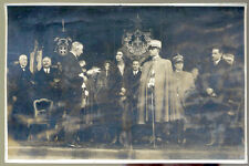 0218 SCALENGHE INAUGURAZIONE SCUOLE 1930 UMBERTO II DI SAVOIA E MARIA JOSE