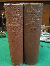 THE WAR BETWEEN THE STATES 1868 HC/1st Ed. Alexander Stephens CSA VP Complete!