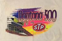 VINTAGE  1992 DAYTONA 500 BY STP - NEW - WHITE - UNISEX - XL T-SHIRT