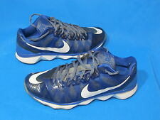Nike CJ3 Calvin Johnson Mens Trainer (725231 014) Football Baseball Blue Sz 9.5