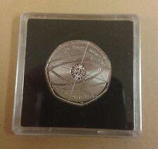 2017 New Design Sir Isaac Newton 50p Coin - Excellent Condition