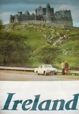 VINTAGE AER LINGUS IRISH AIRLINES TRAVEL POSTER IRELAND ROCK OF CASHEL TIPPERARY