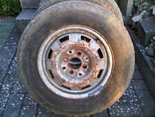 1x Stahlfelge 4,5Jx13H2 ET45  montiert ist ein Reifen 155 SR13 M+S Steel Tubeles