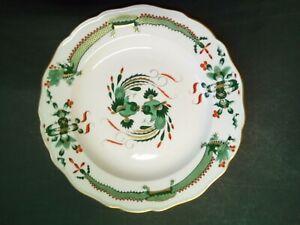 Plate Porcelain MEISSEN Decor Au Dragon Edge Chantourne
