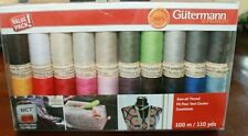Gutermann Sew-all Thread Assorted Colors 20 (110) Yard Spools