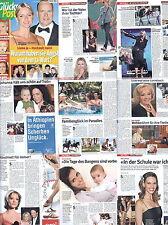 Glückspost Erol Sander, Sandra Studer,Kim Wilde,Michelle,Hilary Swank