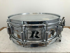 Rogers Big R Dyna-Sonic 5x14 Chrome Over Brass Snare Drum - FAST Shipping!