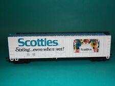 HO scale freightcar (Scotties Tissue)
