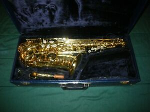 1980's SELMER USA 162 OMEGA PROFESSIONAL ALTO SAXOPHONE - EXCELLENT CONDITION!