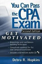 You Can Pass the CPA Exam: Get Motivated!-ExLibrary