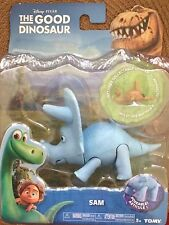 NIB Disney Pixar The Good Dinosaur Sam Poseable with Bonus Action Figure