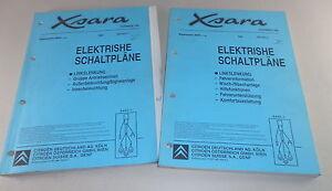 Manual de Taller Eléctrico Diagramas de Cableado Citroën Xsara Stand 12/1999