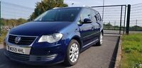 IMPORTED VW TOURAN 7 SPEED DSG 1.4 TSI TREND LINE ULEZ COMPLIANT 7 SEATER