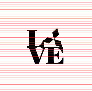 LOVE Sticker Decal JDM Mitsubishi Emblem Evolution Lancer 3000GT Eclipse VR4 Evo