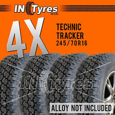4x 245/70R16 Technic AT Tyres All Terrain Four 245 70 16 A/T 4x4 Kingpin x4