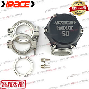 50MM V BAND WASTEGATE IRACE RACEGATE50 RG50 1 Year Warranty
