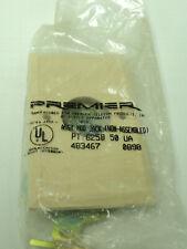 Premier PT-625B-4-50 CONNECTOR BLOCK PHONE JACK RJ11C USOC Ivory NIP Flush Mount