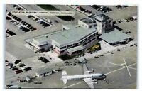 Postcard Stapleton Municipal Airport, Denver, Colorado CO 1951 A32
