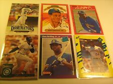 (Lot of 6) 1980's 90's Cards KEN GRIFFEY, JR Donruss CLASSIC 365 33 T1 [c3b2]