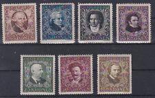 1922 Österreichische Komponisten Postfrisch ** MNH ANK 418 - 424