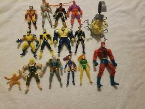 Toybiz X-men animated Figure Lot
