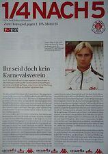 Programm Info 2002/03 FC St. Pauli - FSV Mainz