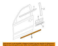 GM OEM EXTERIOR TRIM-DOOR-Body Side Molding Left 15234524