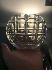 """Vintage Small Clear Glass Windows Vase 4"""""""