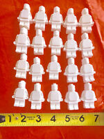 25 BRICK party favors, party activity to paint. Creative.DIY, birthday.Boy,girl.