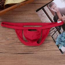 Men's Lingerie Open Back Bikini Jockstrap Briefs Sexy Cut Out  Pouch Underwear
