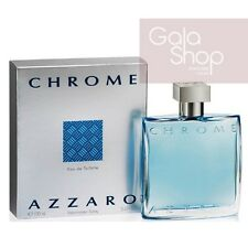 AZZARO CHROME POUR HOMME 100ML EDT EAU DE TOILETTE PROFUMO UOMO MEN HIM