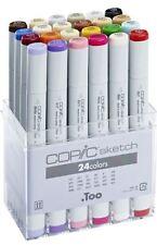 Copic Sketch Marker Penne - 24 colore di base Set-ARTE GRAFICA Marcatori