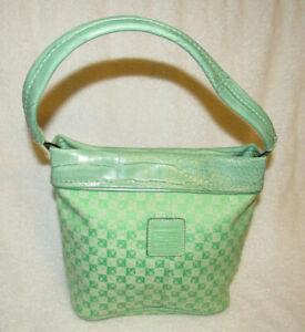 Liz Claiborne small mint green purse, EUC