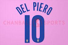 Del Piero #10 2005-2006 Juventus 3rd Awaykit Nameset Printing
