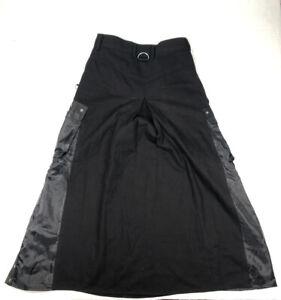 Raven S.D.L Clothing Men's Skirt Punk Rock Size 32 Gothic Skirt