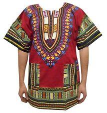 Dashiki Vintage Men Shirt Poncho African India Ethnic Hippie Unisex Tops Blouses