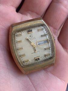 Vintage Elgin Automatic Square Men's Watch, Estate find!! NR