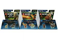 Lego Dimensions Fun Pack LOT of 3 - 71223 71220 71218 NEW Rare