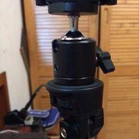 "360 Swivel Mini Ball Head Bracket Holder for 1/4"" Screw Mount Tripod DSLR Camera"
