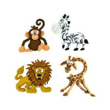 Dress It Up Buttons - 4pcs Silly Safari