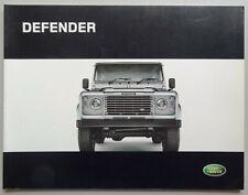 V13586 LAND ROVER DEFENDER - CATALOGUE - 2005 - 22x29 - GB