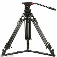 """66"""" V12T Carbon Fiber Camera Tripod W/ Fluid Head 12KG FR Red Scarlet Epic FS700"""