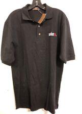 Weber Grill Logo Polo Shirt Black S/L/XL 100% Cotton