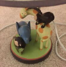 Baby Nursery Lamps Animals Giraffes Monkey Elephant Lamp Shade