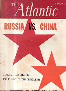 1965 Atlantic - April - Green river Wyoming School; Georgia O'Keefe; China