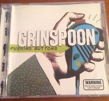 Pushing Buttons - Grinspoon CD 1998 Import Australian Hard Rock AC/DC
