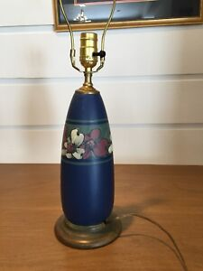 Weller Pottery Original Hudson Lamp Mint condition.